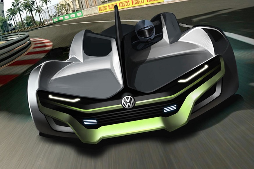Volkswagen Future All-Electric Sportscar Imagined