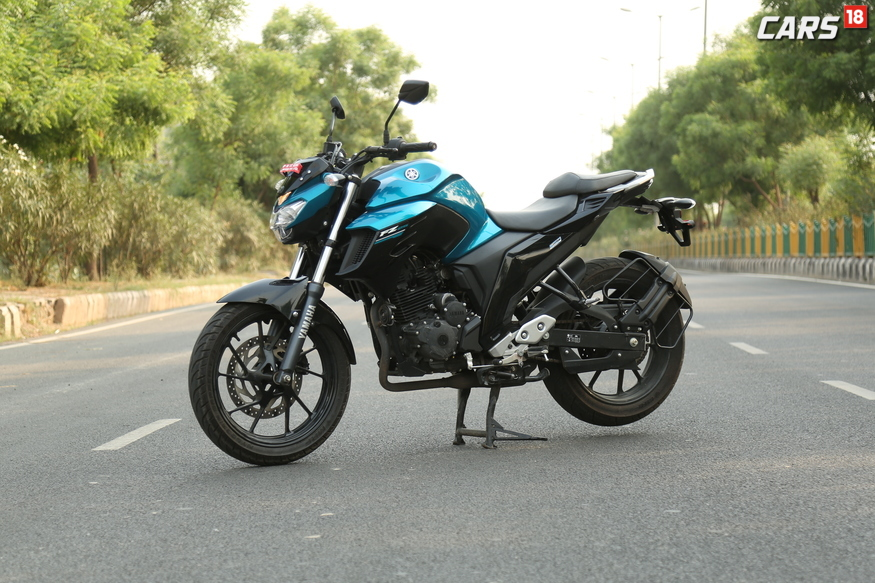 Yamaha FZ25 is launched in India for Rs 1.2 Lakhs (ex-showroom, Delhi).  (Image: Siddharth Safya/News18.com)