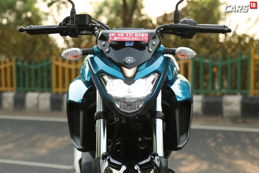 Yamaha FZ25 front naked fairing. (Image: Siddharth Safya/News18.com)