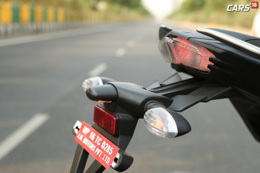 Yamaha FZ25 Tail Lamp.  (Image: Siddharth Safya/News18.com)