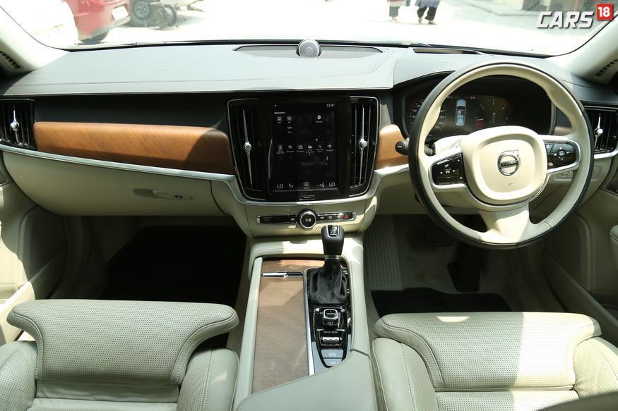 Volvo S90 Cabin. (Image: Siddharth Safaya/ News18.com)