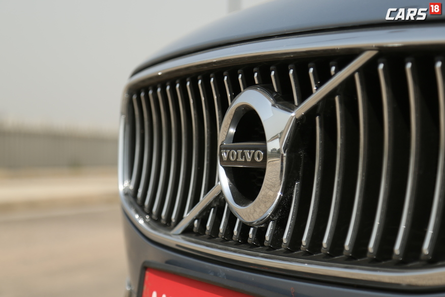 Volvo S90 23 vertical slat concave grille. (Image: Siddharth Safaya/ News18.com)