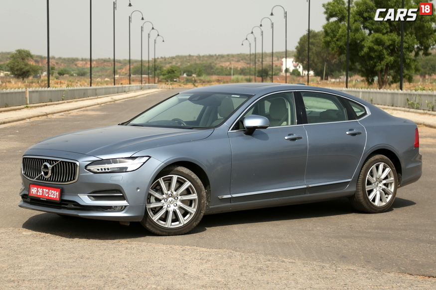 Volvo S90 Side Profile. (Image: Siddharth Safaya/ News18.com)