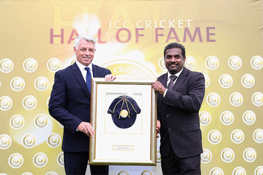 Image result for Muttiah Muralitharan ICC Hall of Fame