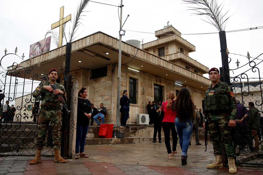 Rosaries and Rifles: Syria's Christians Take on Islamic State in Raqa