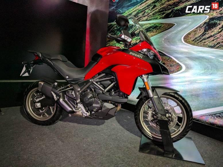 Ducati Multistrada 950 during the launch event in Delhi. (Image: Manav Sinha/News18.com)