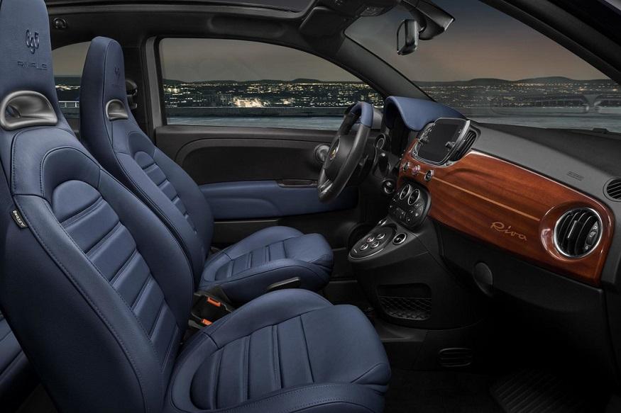 Abarth 695 Rivale Special Edition interior. (Image: Abarth)