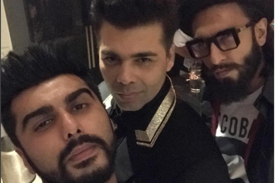 Arjun Celebrates Birthday with Close Friends KJo, Ranveer and Ranbir