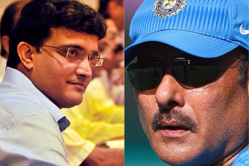 Ganguly on Shastri: Anybody Can Apply For Team India Coach Job