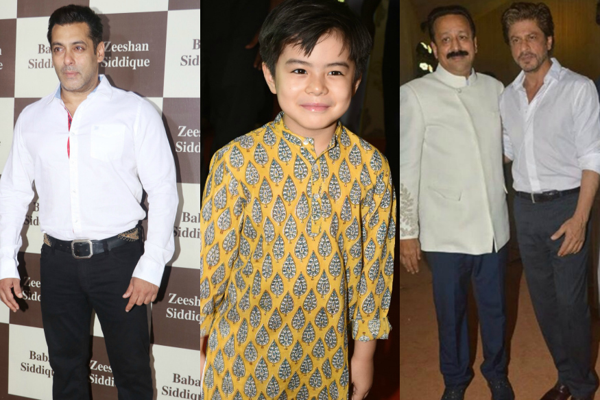 Matin Rey Tangu Joins SRK, Salman Khan At Baba Siddique's Iftar party