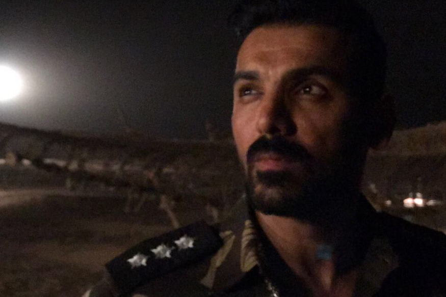 John Abraham 39 S Rugged Intense Look From Parmanu The