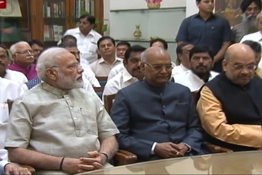 Ram Nath Kovind Files Nomination for Presidential Polls in PM Modi's Presence
