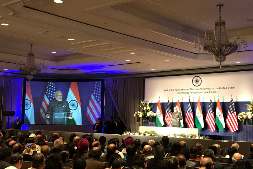 No One in the World Questioned India on Surgical Strikes: PM to Diaspora