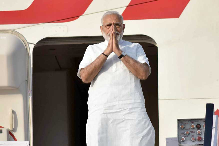 PM Modi Lands in US; Will Meet CEOs and Indian-Americans Today, Trump Tomorrow