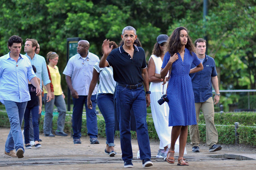 Barack Obama on Temple Sojourn During Indonesia Holiday