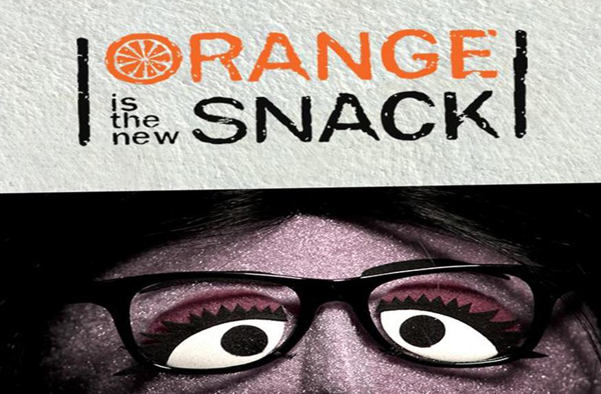orange is the new snack sesame street
