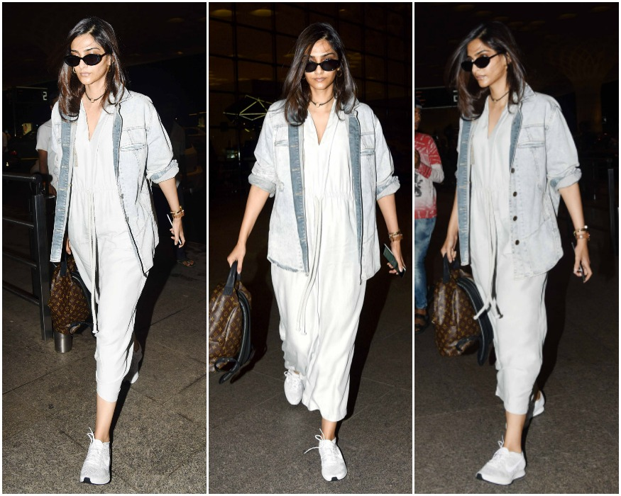 Airport Spotting: Deepika Padukone returns from Bengaluru