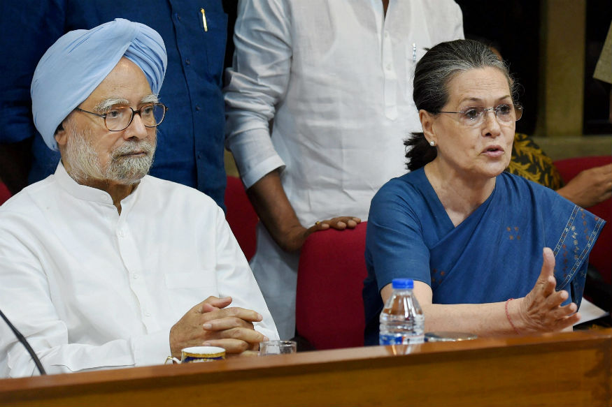 Sonia Meets Manmohan, Cong Unlikely to Attend GST Launch in Parliament