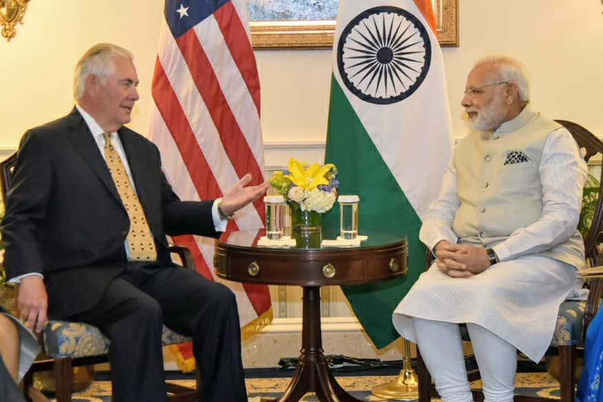Modi-Trump Meet Live: PM Talks Terror With US Secretary of State Rex Tillerson