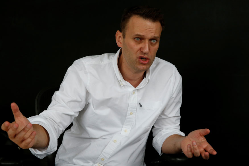 Russian Court Jails Navalny Supporter for 2 And a Half Years