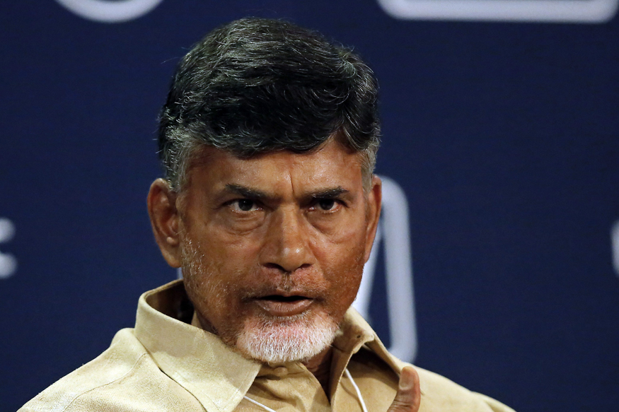 How Dare You Question Me, Andhra CM Chandrababu Naidu Man at Rally