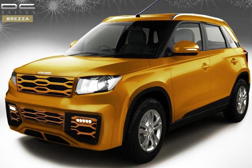 Maruti Suzuki Vitara Brezza Modified By Dc Design News18