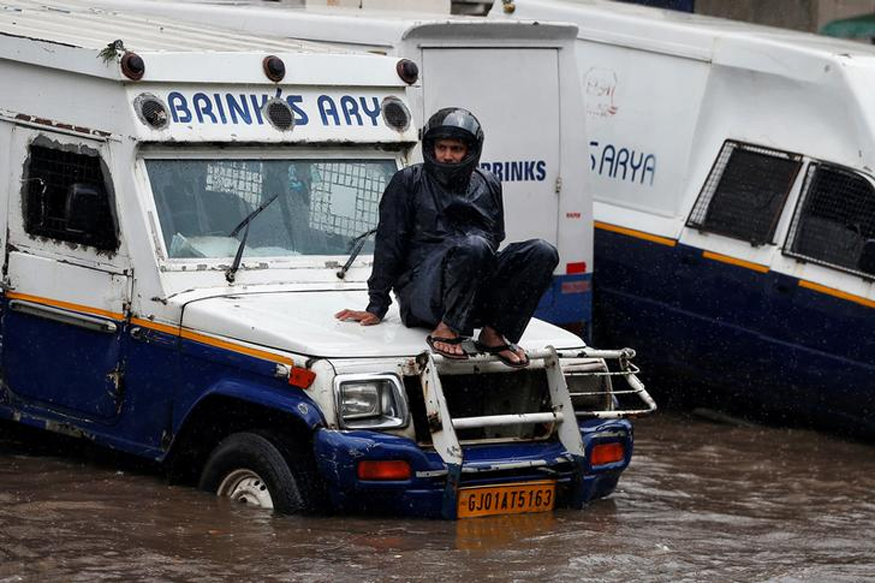 Flood Wrecks Rajasthan, Killing 2, Gujarat Declares High Alert