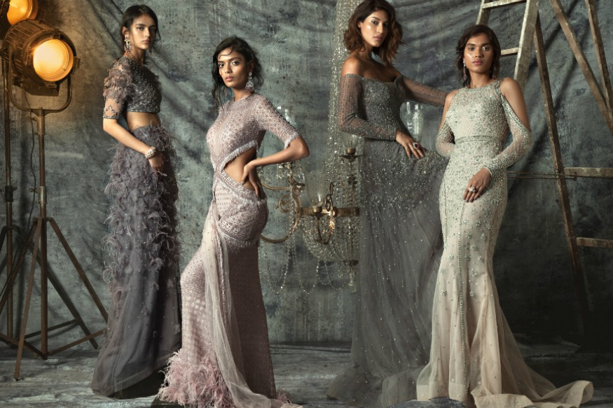 (Photo: Falguni and Shane Peacock's collection for the upcoming Vogue Wedding Show)