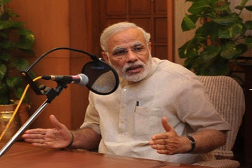 Launched on October 3, 2014, Prime Minister Narendra Modi addresses the nation every month in 'Mann Ki Baat' programme.
