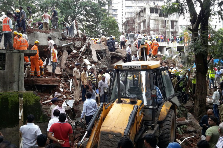 Residents Blame Sena Leader's Nursing Home for Mumbai Building Collapse