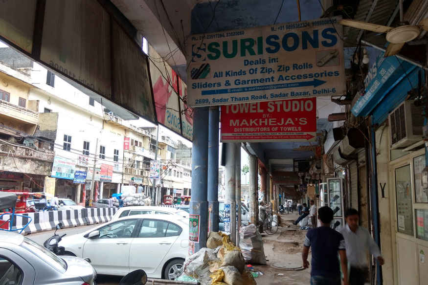 Image result for GST Day 1: No Business at North India's Wholesale Hub Sadar Bazar