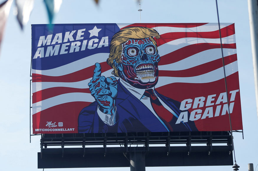 Trump Is Controlled by Aliens? Alien-trump
