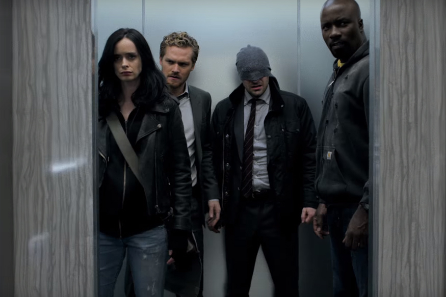 Watch the new trailer for Marvel's The Defenders