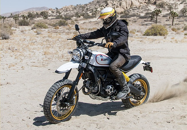 ducati scrambler desert sled launched in india at rs lakh news18. Black Bedroom Furniture Sets. Home Design Ideas