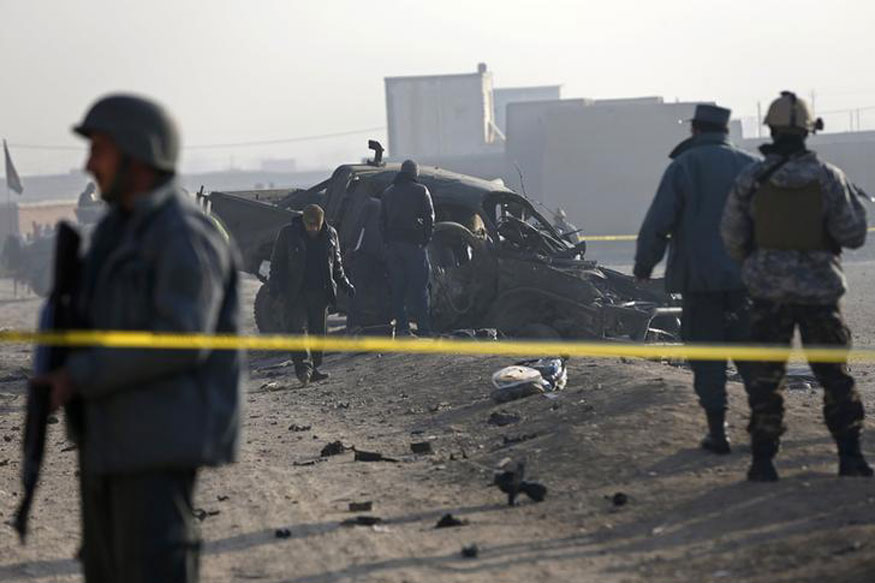 12 Killed, Several Injured After Suicide Car Bomb Blast in Kabul