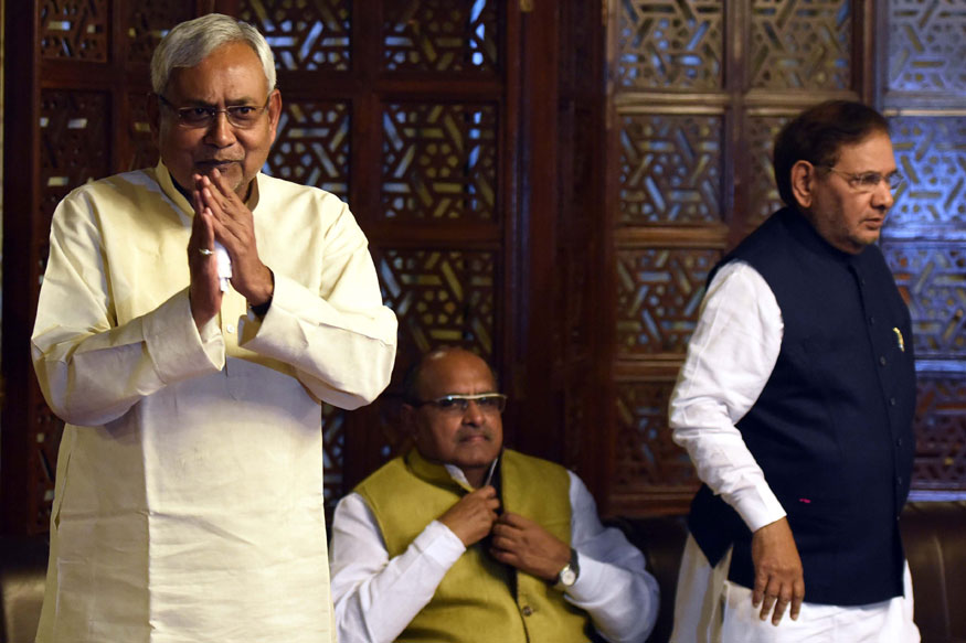 JD(U) Split Looms Large as Nitish and Sharad Hold Parallel Meets Today