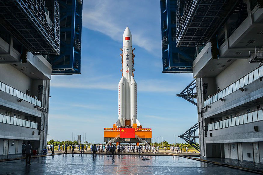 China Set to Launch Long March-5, Its Second Heavy-lift ...