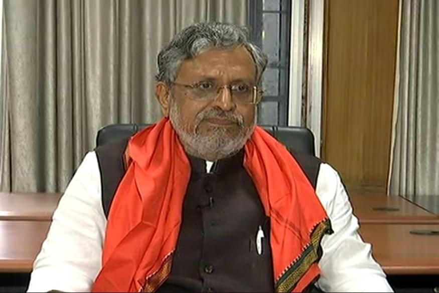 Nitish's DNA is Anti-Congress and Anti-Corruption, Says Sushil Modi