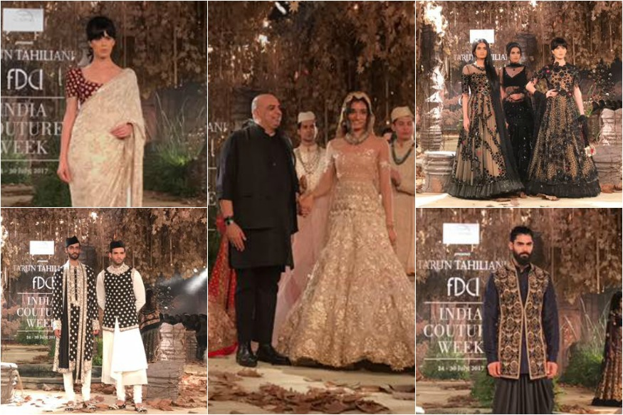 Tarun Tahiliani Wows Audiences With 'Tarakanna' At ICW 2017 Day 3