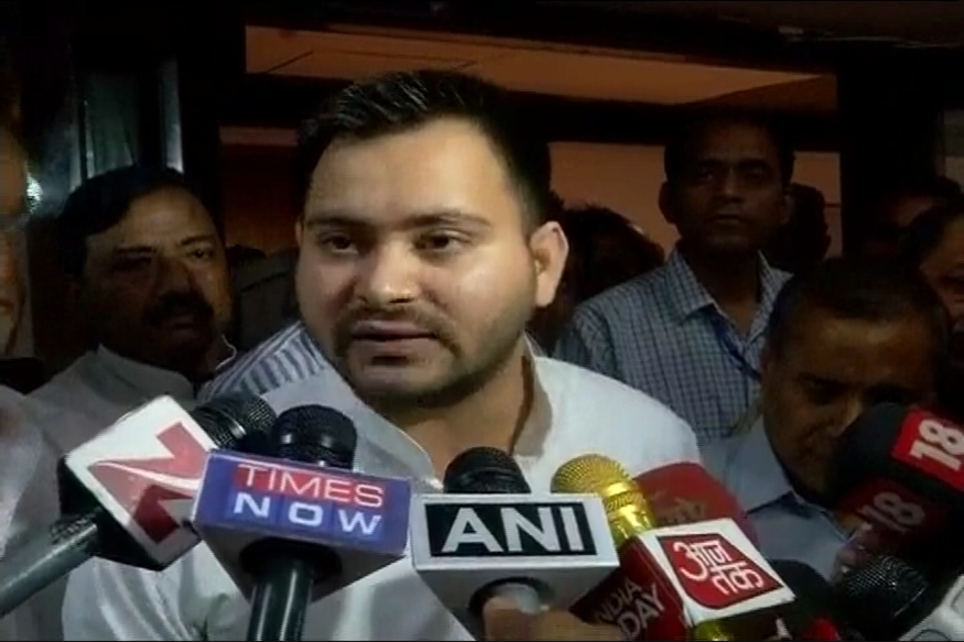 Amid Bickering in Bihar Alliance, Tejashwi Meets Sonia in Delhi