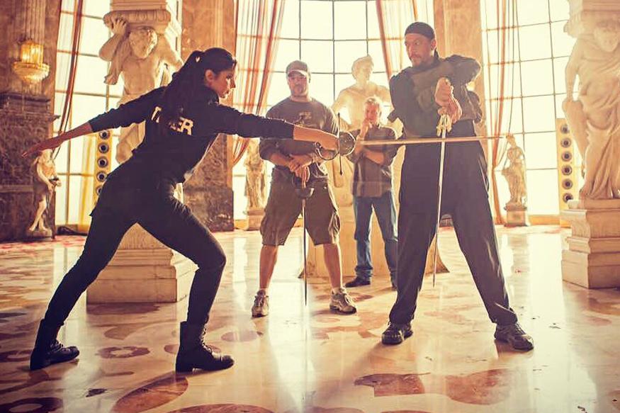 Angad Bedi Wraps Up Abu Dhabi Shoot For Tiger Zinda Hai