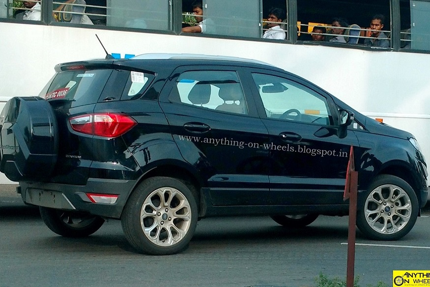 2017 Ford Ecosport Facelifted. (Image: Anything On Wheels)