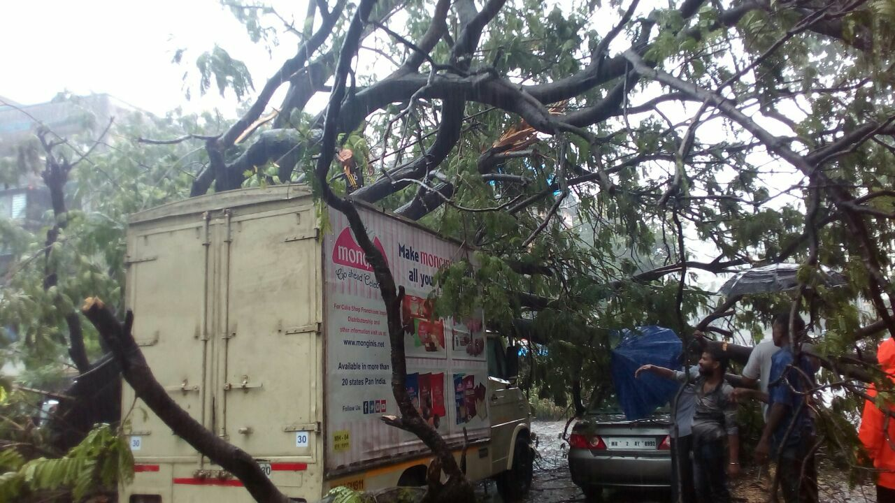Monsoon rains bring Mumbai to standstill