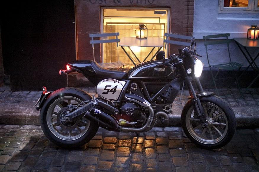 Ducati Scrambler Cafe Racer. (Image: Ducati)