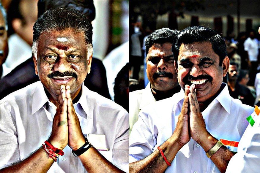 OPS-EPS Factions Merge at Last, Panneerselvam Is Deputy CM