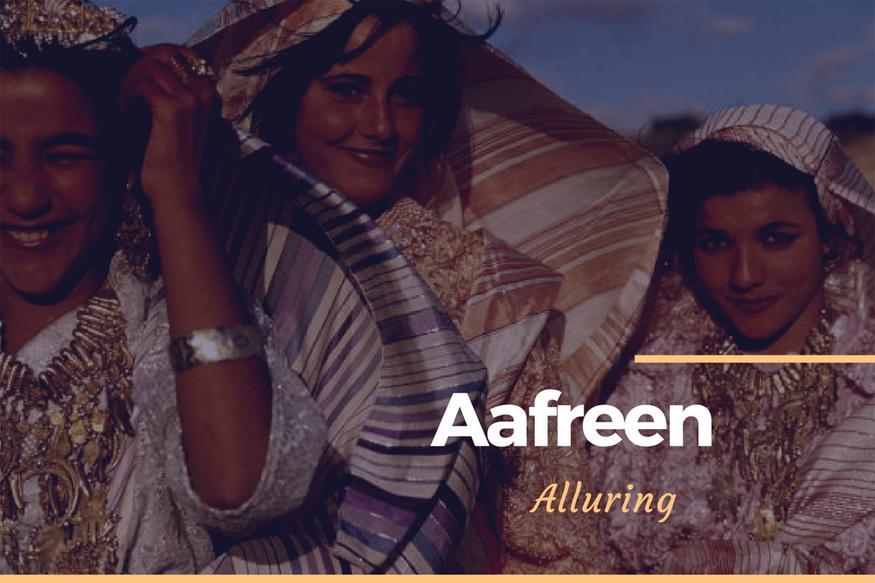 Aafreen1