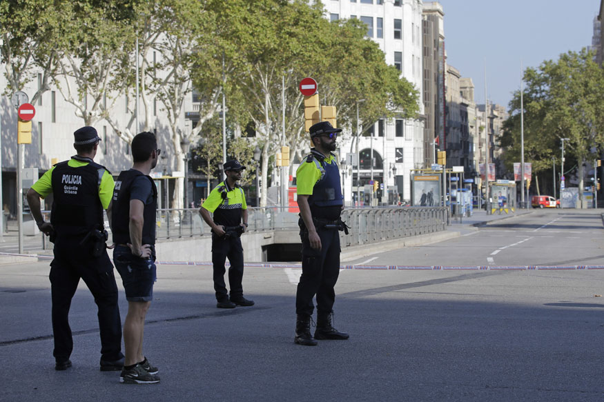 Van Crashes Into Dozens of People in Barcelona, Police Say 'Terrorist Attack'