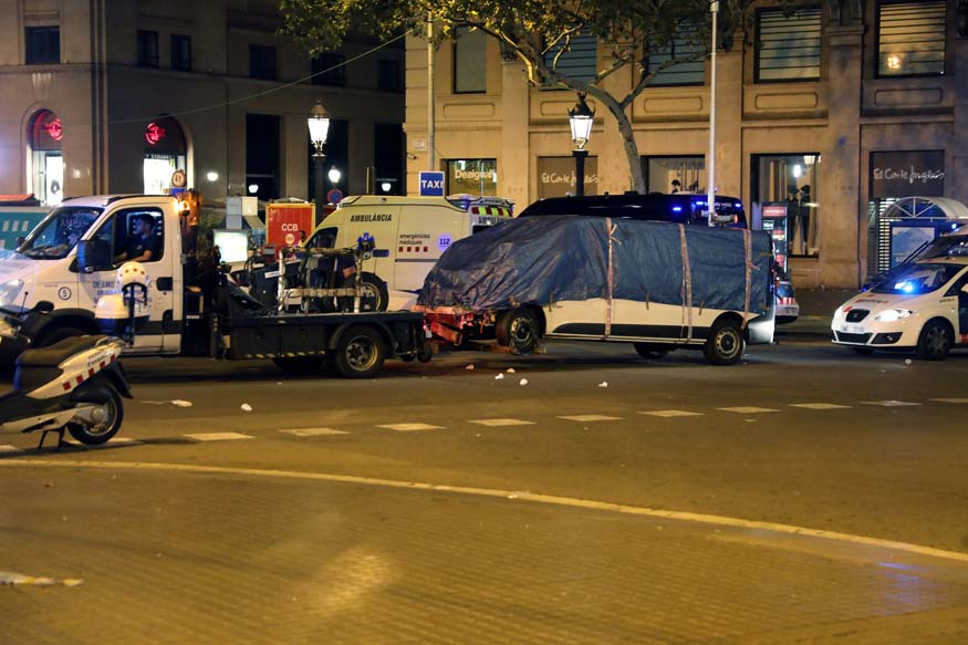 Seven Injured in Second Spain Attack, 'Five Suspected Terrorists' Shot Dead