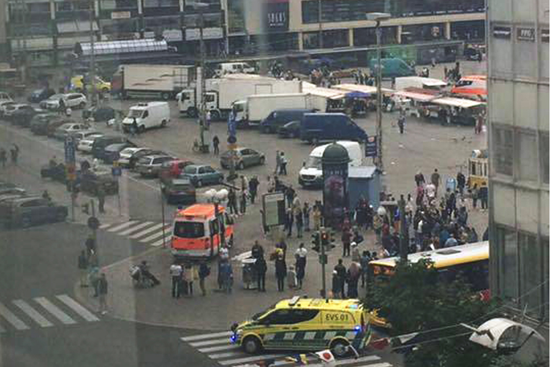 Finland Police Shoot Man Who Stabbed Several People in Turku City