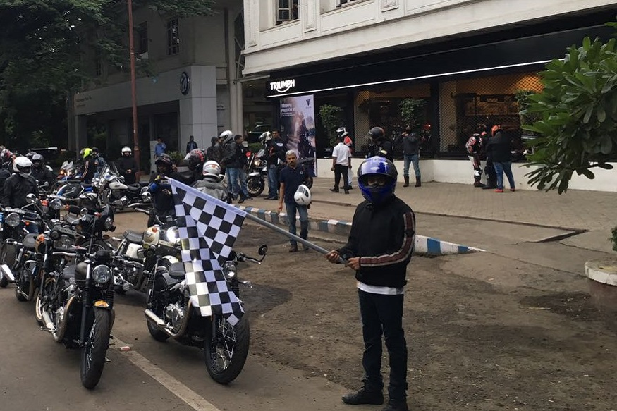 Image result for More Than 500 Triumph Riders Supported the Noble Cause of Girl Child Education